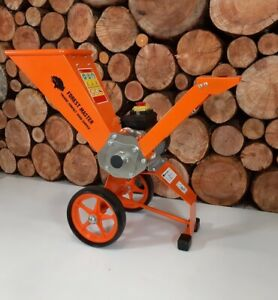 FOREST MASTER Compact 4hp Electric Motor Garden Self Feed Wood Chipper shredder