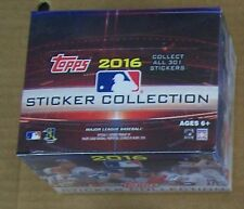 2016 Topps MLB Baseball stickers unopened box 50 packs of 8 stickers