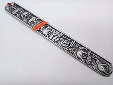 Carved Elephant Bookmark Aluminium & Wood Craft Handmade Accessory Collectibles