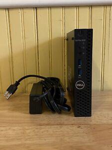 Dell OptiPlex 3060 Micro (128GB SSD, 500GB Intel Core i3 8th Gen., 3.10GHz, 8GB)