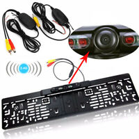 Wireless Car Reversing Camera Backup Cam Rear View Kit 170° for TFT LCD Monitor