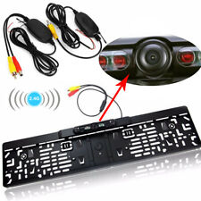Wireless 12v 170° Car Rear View Reverse Backup License Plate Camera Night Vision