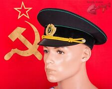 USSR Railroad Worker hat Size 7 1/8 US 57 cm Uniform cap Russian Soviet Red Army
