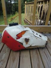 Vintage 1980s Honda ATC 200X Gas Fuel Tank with Shrouds