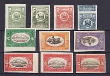 ARMENIA 1920, MINT 10 IMPERFORATES, PROOFS (?)
