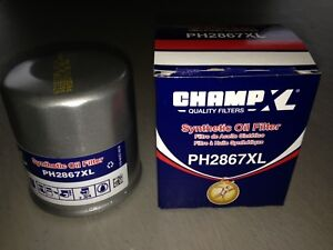 USA Champ PH2867XL Synthetic Oil Filter fits M1-110A XG7317 51356XP TG7317 M1110
