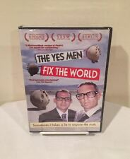 'The Yes Men Fix The World' (DVD) Brand New, Factory Sealed!