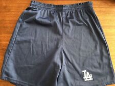 Vintage Los Angeles Dodgers Majestic Brand Shorts Made USA 80's Embroidered  L
