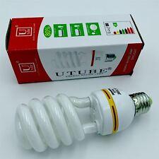 4 x E27 Energy Saving Spiral Light Bulb 15w