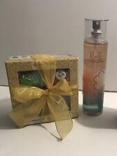 Set Fizzy Bombs & Bath Body Works Pink Chiffon Spray Gift Box New