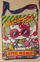 HTF Mighty Fine Hello Kitty Elmo Cookie Monster EPIC NOMS giant Con bag tote