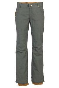 686 Women's CRYSTAL Shell Snow Pants Charcoal Heather Size XSmall  LAST ONE LEFT