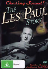 LES PAUL Chasing Sound! The Les Paul Story Documentary DVD NEW PAL Region 4