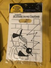 Nightmare Before Christmas Party Favor Bags - NOS