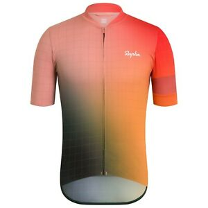 NEW Rapha Men's Cycling Jersey Fade Rose Print Classic Flyweight Large L RCC