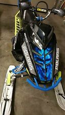POLARIS HOOD GRAPHIC RUSH PRO RMK 600 700 800 ASSAULT 120 155 163  DECAL WRAP or