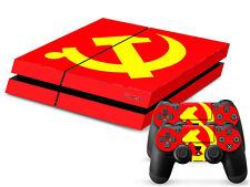 SONY PS4 PlayStation 4 SKIN Design Adesivo Pellicola Protettiva Set - URSS Motif
