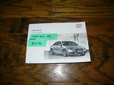 2009 Audi A4 owners manual Aud19