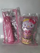 Hello Kitty Sticker And School Kit Containers 2007 McDonalds Happy Meal Toys New