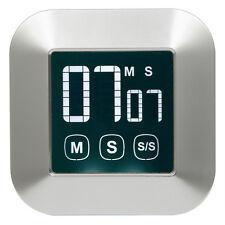 Magnetischer Küchentimer mit Touchscreen, Kurzzeitmesser, Eieruhr, Küchen-Timer