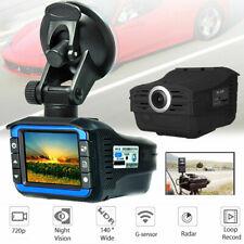 Anti Radar Laser Speed Detector 720P Car DVR Recorder Video Dash Camera Night