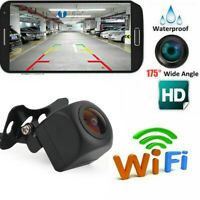 WiFi CCD Car Camera Rear View Backup Parking Camera Fit For iPhone Android