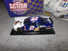 1/24 RUSTY WALLACE #2 MILLER / ELVIS BW/BANK 1998 ACTION NASCAR DIECAST