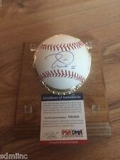 Tim Lincecum San Francisco Giants PSA SF Signed World Series Auto Baseball 2014