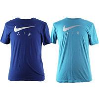 Nike Air Men's 100% Cotton Short Sleeve Crew Neck Tee T-Shirt