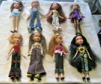 Bratz Doll Lot ~ 8 Fully Dressed Dolls with Footwear Lot (4)