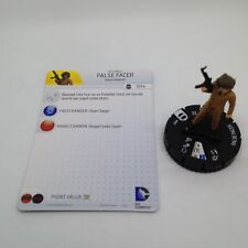 Heroclix Batman: Streets of Gotham set False Facer #007 Common figure w/card!