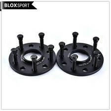 2x10mm 5x114.3 black wheel spacers for Honda Civic Accord CRV Accord Acura MDX