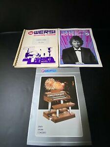 Wersi Organ Assembly Manual User's Guide DX 350 ~ Wersi Catalog & Magazine ~