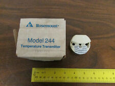 NIB Rosemount Model 244RF Temperature Transmitter. 100-Ohm Pt Rated 4-20mA