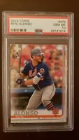 Pete Alonso 2019 Topps RC 475 PSA 10 Mets