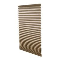 "Redi Shade 1612094 Pleated Light Filtering Window Shade (Pack of 2), 36"" x 72"","