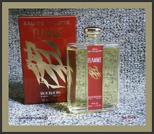 """ FLAMME "" NIB EDT by BOURJOIS 50 ml Splash Vintage Rare Made in France 70's"