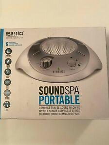 HoMedics SS-2000  Sound Spa Portable White Noise  Sounds Sleep Machine