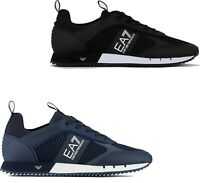 SHOES EA7 EMPORIO ARMANI FUSION RACER SNEAKERS BRAND NEW TRAINERS 2020 MESH LYCR