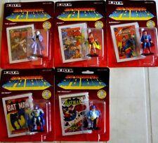 Set 5 action figures DC COMICS SUPER HEROES by ERTL 1990 Batman Superman new box