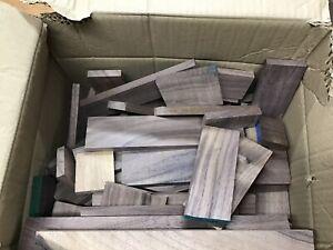 BOX OF WALNUT OFFCUTS 1.6KG