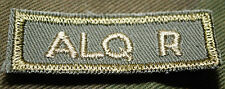 """CANADIAN ARMY COMBAT TAB UNIT BADGE INSIGNIA  """"ALQ R""""  4 FOR $1 MIX & MATCH"""