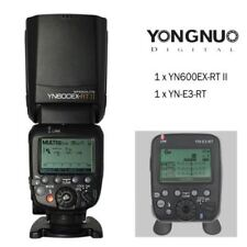 YongNuo YN600EX-RT II Wireless Speedlite Flash + YN-E3-RT Transmitter For Canon