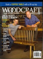 Woodcraft Magazine October/November 2017 Build a Coffee Table - Build a Bench