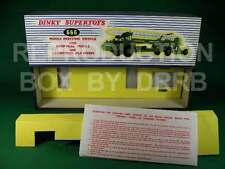 Dinky #666 Erecting Vehicle & Corporal Missile - Reproduction Box by DRRB