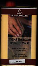 Möbel Restauro Borma Wachs,Restaurierungsöl ,Mahagoni Grundpreis:23,90 € / Liter