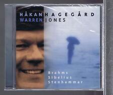 HAKAN HAGEGARD CD NEW SONGS OF BRAHMS/ SIBELIUS/ STENHAMMAR
