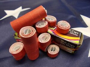 VINTAGE STYLE TOY CAP GUN PAPER ROLL CAPS X 20 ROLLS 1000 SHOTS IN TOTAL