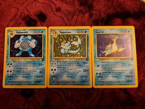 Pokemon card lot water