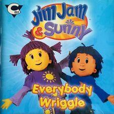 NEW - JIM JAM & SUNNY - EVERYBODY WRIGGLE - Children's CITV Songs Music CD Album